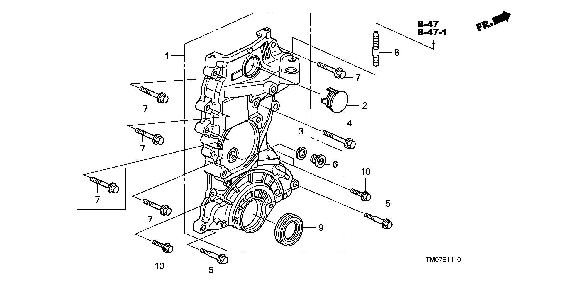 Honda 15302-PE0-300 Washer 14Mm